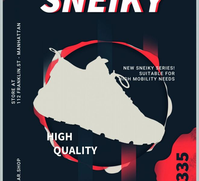 Sneakers Poster Template